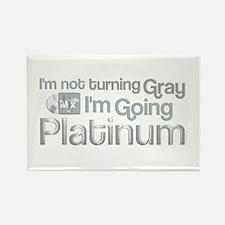 Going Platinum Rectangle Magnet