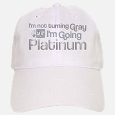 Going Platinum Baseball Baseball Cap