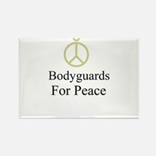 Bodyguards Rectangle Magnet