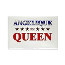 ANGELIQUE for queen Rectangle Magnet