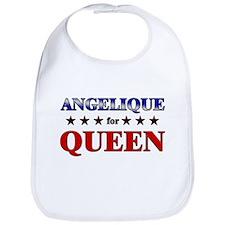 ANGELIQUE for queen Bib
