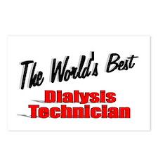 """The World's Best Dialysis Technician"" Postcards ("
