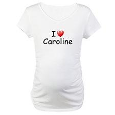 I Love Caroline (Black) Shirt