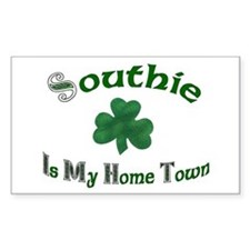 Southie Rectangle Decal