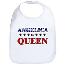 ANGELICA for queen Bib