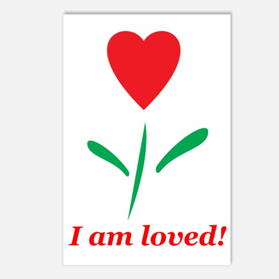 """""""I am Loved"""" Postcards (Package of 8)"""
