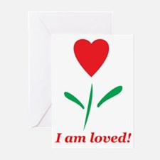 """I am Loved"" Greeting Cards (Pk of 10)"