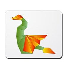 Origami Dragon Mousepad