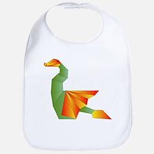 Origami Dragon Bib