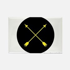 Archery Marshal Rectangle Magnet