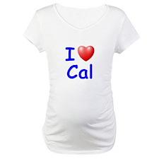 I Love Cal (Blue) Shirt