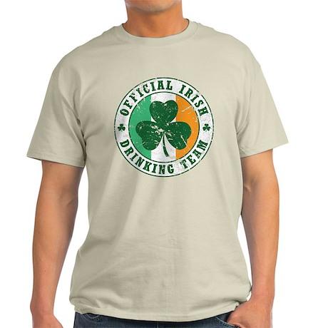 'Vintage' Irish Drinking Team Light T-Shirt
