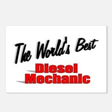 """The World's Best Diesel Mechanic"" Postcards (Pack"