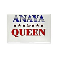 ANAYA for queen Rectangle Magnet