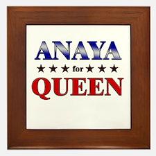 ANAYA for queen Framed Tile