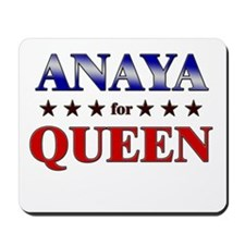 ANAYA for queen Mousepad