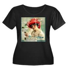 Mirror Girl 2 Valentine Plus Size Dark T-Shirt