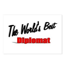 """""""The World's Best Diplomat"""" Postcards (Package of"""