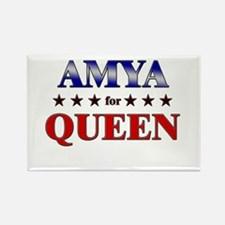 AMYA for queen Rectangle Magnet