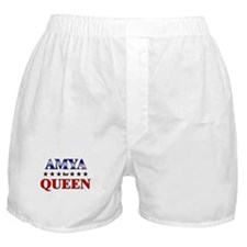 AMYA for queen Boxer Shorts