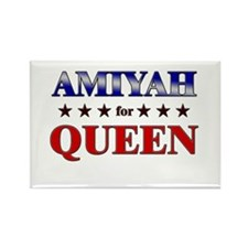 AMIYAH for queen Rectangle Magnet