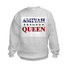 AMIYAH for queen Sweatshirt