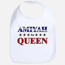 AMIYAH for queen Bib