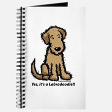 Yes it's a Labradoodle!! Journal