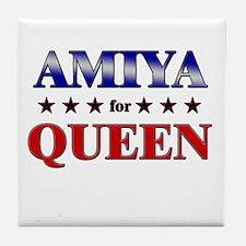 AMIYA for queen Tile Coaster