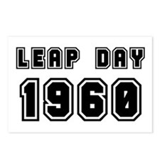 LEAP DAY 1960 Postcards (Package of 8)