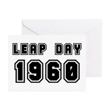 LEAP DAY 1960 Greeting Cards (Pk of 10)