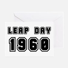 LEAP DAY 1960 Greeting Card