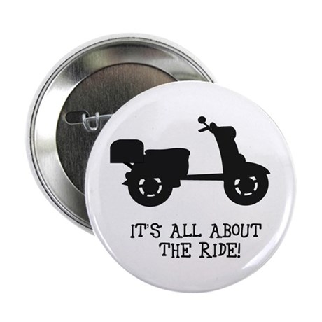 """It's All About The Ride 2.25"""" Button (100 pack)"""