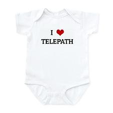 I Love TELEPATH Infant Bodysuit
