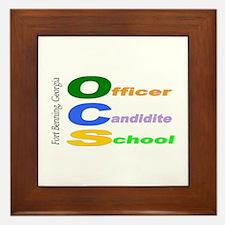 Cool Ocs Framed Tile