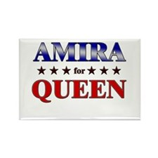 AMIRA for queen Rectangle Magnet