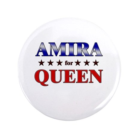 "AMIRA for queen 3.5"" Button"