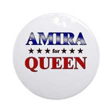 AMIRA for queen Ornament (Round)