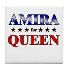 AMIRA for queen Tile Coaster