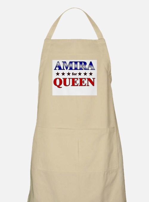 AMIRA for queen BBQ Apron