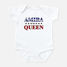 AMIRA for queen Infant Bodysuit