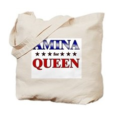 AMINA for queen Tote Bag