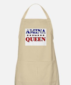 AMINA for queen BBQ Apron