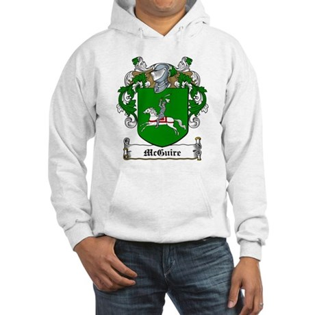 McGuire Family Crest Hooded Sweatshirt