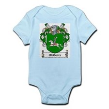 McGuire Family Crest Infant Creeper