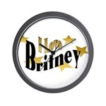 Britney Wall Clock