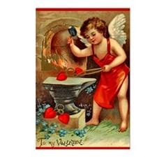 Valentine Blacksmith 2 Postcards (Package of 8)
