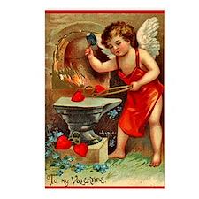 Valentine Blacksmith 2 Postcards (Package of 8)
