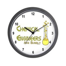 Chemical Engineers Wall Clock