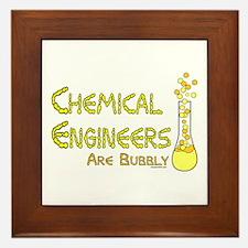 Chemical Engineers Framed Tile